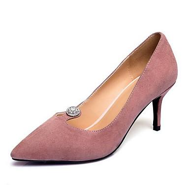 Talon Printemps Daim Rose Talons Confort Chaussures 06858116 Femme Chaussures Aiguille Noir à x60wAFxEq