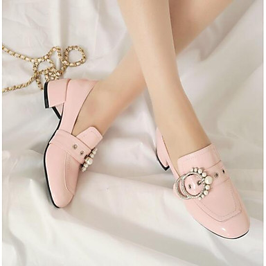 Talons à Escarpin Chaussures Rose Basique Verni Talon Noir Bottier 06862254 Printemps Chaussures Cuir Femme 0Tx8qUA0
