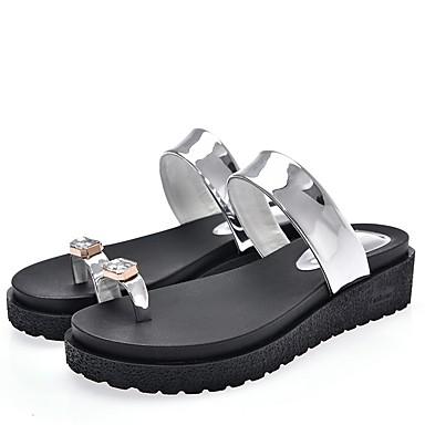 Creepers Argent Confort Polyuréthane Eté Or Femme Chaussures 06862266 Sandales 4zgqnZw