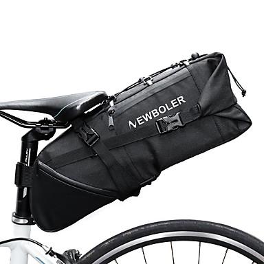 abordables Sacoches de Vélo-10 L Sacoche de Selle de Vélo Réfléchissant Ajustable Grande Capacité Sac de Vélo Polyester 900D Sac de Cyclisme Sacoche de Vélo Vélo de Route Vélo tout terrain / VTT / Etanche