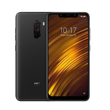 "ieftine Oferte Speciale-Xiaomi Pocophone F1 Global Version 6.18 inch "" Smartphone 4G (6GB + 128GB 5 mp / 12 mp Snapdragon 845 4000 mAh mAh) / camere duble"