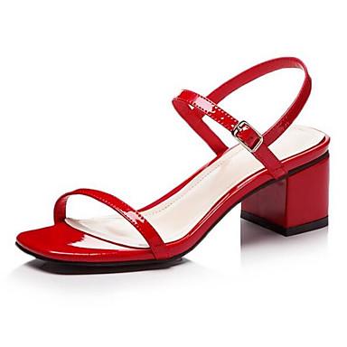 synthétique Eté Femme Talon Rouge Noir Rose Matière 06841796 Confort Chaussures Bottier Sandales Eqnw1HwT