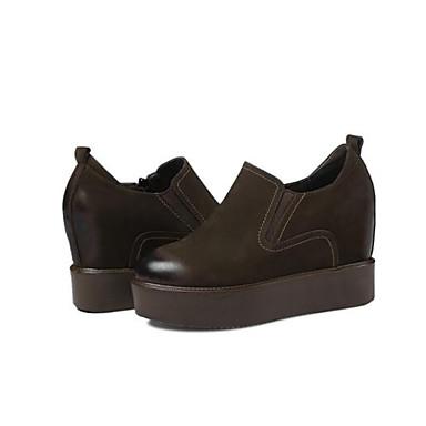 Eté Mocassins fermé Noir et Creepers Cuir Véronèse Femme Nappa D6148 Vert Confort Chaussures Chaussons Printemps 06843263 Bourgogne Bout WFnCwYUIq