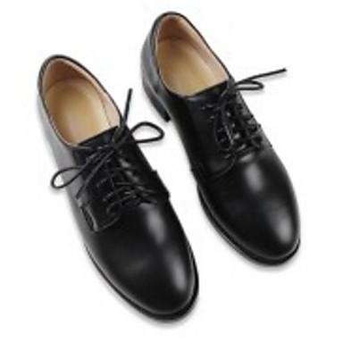 Nappa amp; Block Femme Automne Chaussures Heel Printemps Oxfords Confort Cuir 06850019 Noir qTwnExR