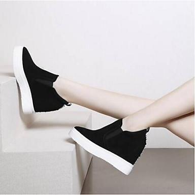 Vert Printemps Mocassins Véronèse Chaussures Chaussons mouton Daim Noir et D6148 de Bout Eté Femme 06841488 Peau Creepers fermé Confort 8gXaBgwq