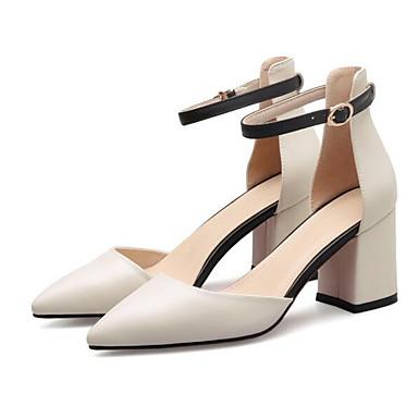 Cuir Blanc Talon 06848570 Femme Bottier Talons Chaussures Nappa Eté Confort à Noir Chaussures wxqSxvAT