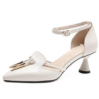 Nappa Noir Talon Eté Chaussures 06843327 Talons Bobine Cuir Chaussures Vert Femme Rose Confort à w6afqWE