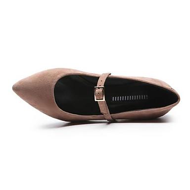 Chaussures Daim Rose Confort Chaussures Noir 06857371 Bottier à Printemps Talon Talons Femme dw1q7d