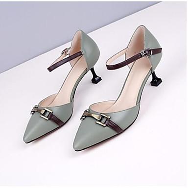 les talons de confort chaussures en cuir au printemps de confort de nappa h 1872fd