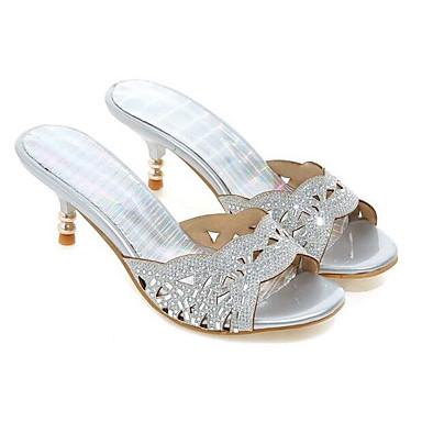 Femme Chaussures de confort Matière synthétique Printemps  s Talon Talon s Aiguille Or / Noir / Argent 864dc1