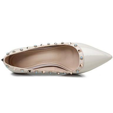 Nappa Basique à Talons Femme Talon Blanc Cuir 06869594 Aiguille Chaussures Printemps Escarpin x5q0I