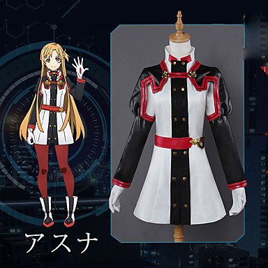 8931117bad2 Inspirado por SAO Swords Art Online Asuna Yuuki Animé Disfraces de cosplay  Japonés Trajes Cosplay Anime