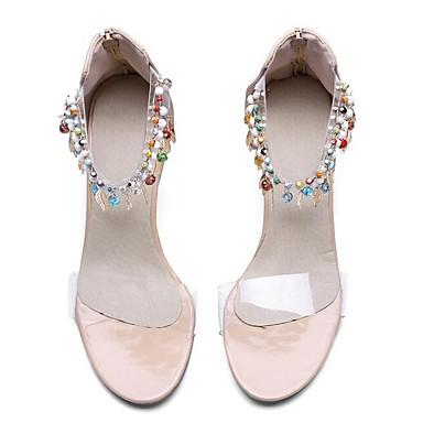 Zapatos Tacón Confort Negro Verano Patentado Cuero 06849825 Tacones Cuadrado Mujer dxRWY4qwHd