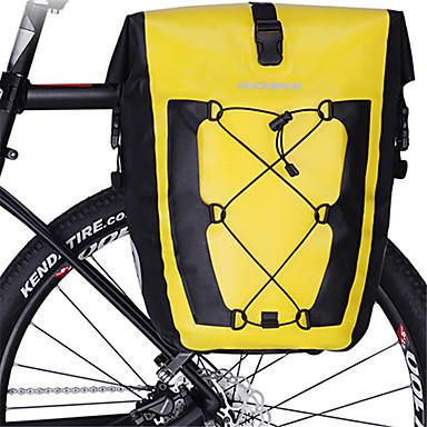 abordables Sacoches de Vélo-ROCKBROS 27 L Sacoche Double Velo / Sac de Porte-Bagage Réfléchissant Grande Capacité Etanche Sac de Vélo TPU Sac de Cyclisme Sacoche de Vélo Vélo de Route Equitation Voyage / Imperméable