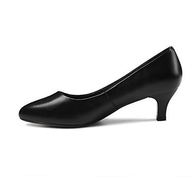 Chaussures Chaussures Talon Noir Automne 06841073 Cuir Aiguille Femme Nappa à Talons Basique Escarpin Confort axWA6n406B
