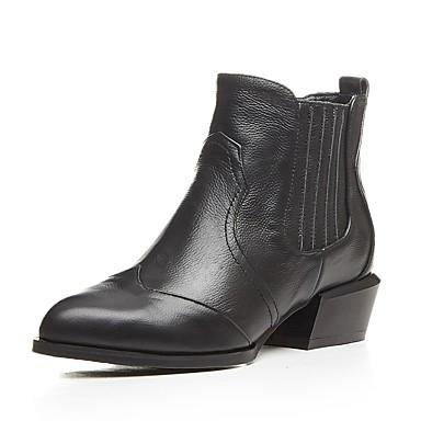 Automne Bottes Bottier Talon hiver Nappa Orange Confort Cuir 06857122 Chaussures Noir Femme taqYpp