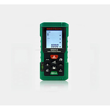 voordelige Waterpasinstrumenten-mastech ms6414 digitale laser afstandsmeter nauwkeurigheid laser afstandsmeter 40m +/- 2mm oppervlakte volume tape afstandsmeetinstrument