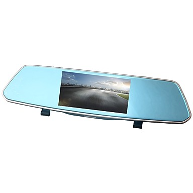 billige Bil-DVR-ziqiao xr805 full HD 1080p 5 tommers ips nattsyn bil dvr speil kamera videoopptaker dual lens registrar bakfra dvrs dash cam