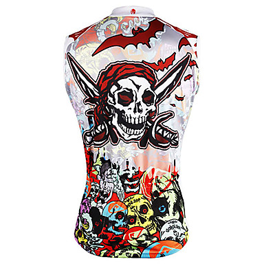 ILPALADINO Homens Sem Manga Camisa para Ciclismo - Camuflado Caveiras  Pirata Moto Colete Camisa   Roupas. baratos Camisas Para  Ciclismo-ILPALADINO ... 6359fe8aeb3cf