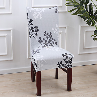 Chair Cover Multi Color Reactive Print Polyester Slipcovers