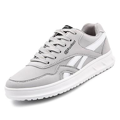 Adattabile Per Uomo Scarpe Comfort Pu (poliuretano) Autunno Sneakers Nero - Beige - Grigio #06904517 Con Le Attrezzature E Le Tecniche Più Aggiornate