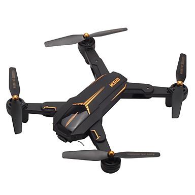 billige Fjernstyrte quadcoptere og multirotorer-RC Drone VISUO XS812 RTF 4 Kanaler 6 Akse 2.4G Med HD-kamera 5.0MP 1080P Fjernstyrt quadkopter En Tast For Retur / Hodeløs Modus / Tilgang Real-Tid Videooptakelse Fjernstyrt Quadkopter