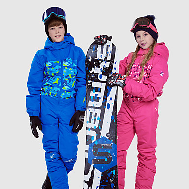 Phibee Boys  Girls  Ski Suit Waterproof Thermal   Warm Windproof Ski   Snowboard  Outdoor Exercise Freestyle Snowboard Polyester Space Cotton Winter Jacket  ... 5c41297e4