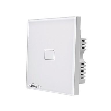BroadLink Smart prekidač TC2 1gang-UK za Dnevna soba / Studija / Spavaća soba APP kontrola / WIFI kontrolu / inteligentan 170-240 V