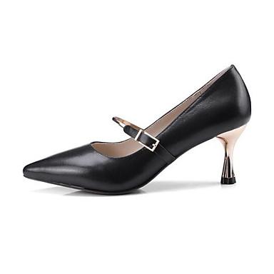 3d61fc5fbf849 Femme Chaussures de confort Cuir Nappa Eté Printemps   Printemps Eté été  Chaussures à Talons Talon ...