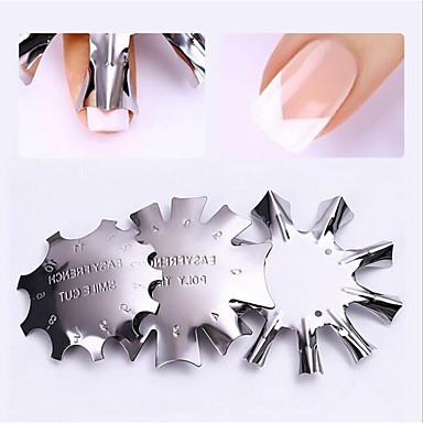 voordelige Nagelgereedschap & Apparatuur-3 stuks Roestvast staal Nail Art-boorset Voor Multi Function / Duurzaam Nagel kunst Manicure pedicure modieus / Modieus Dagelijks