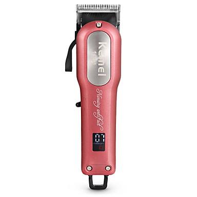 Kemei Trimmer za kosu za Muškarci i žene 110-240 V Low Noise / Ručni dizajn / Svjetlo i praktično