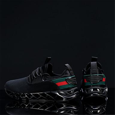 Homme Chaussures de de de confort Maille Automne Chaussures d'Athlétisme Course à Pied Absorption de choc Noir / Gris / Kaki   Moderne  5aca91