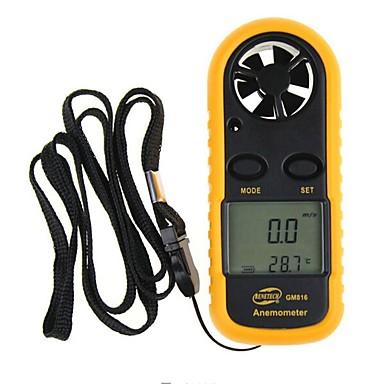 voordelige Test-, meet- & inspectieapparatuur-BENETECH GM816 Anemometer 0 - 30 米/秒 Geschikt / Meten / Pro