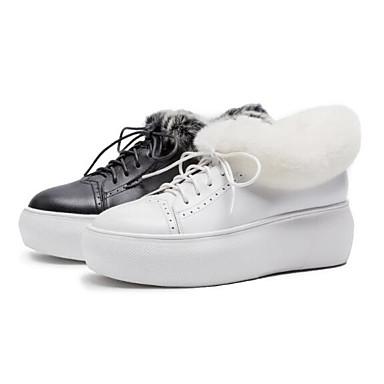 Bout Automne Talon De Ballerines Hiver Confort Femme Cuir Chaussures H92beWDIEY