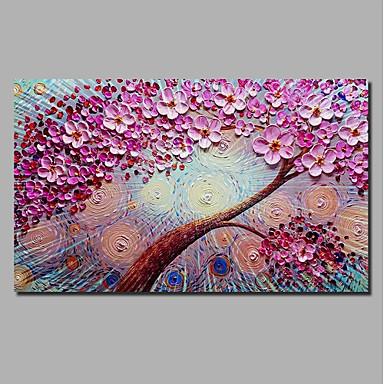 abordables Toiles-Imprimé Impression sur Toile - Halloween A fleurs / Botanique Classique Moderne Art Prints