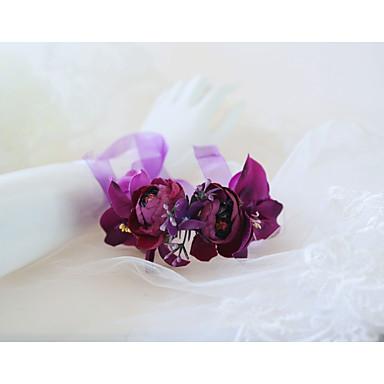 Cvijeće za vjenčanje Boutonnieres Vjenčanje / Svadba Silk Like Satin / Platno 0-10 cm
