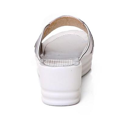 Femme Femme Femme Chaussures de confort Polyuréthane Eté  s Talon Plat Or / Argent | De Faire Le Meilleur Emploi De Matériaux Et Spécial Offre  42eb68
