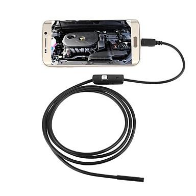 voordelige Microscopen & Endoscopen-6led waterdichte 3.5m 7mm camera van de endoscoopcamera android industriële endoscoop