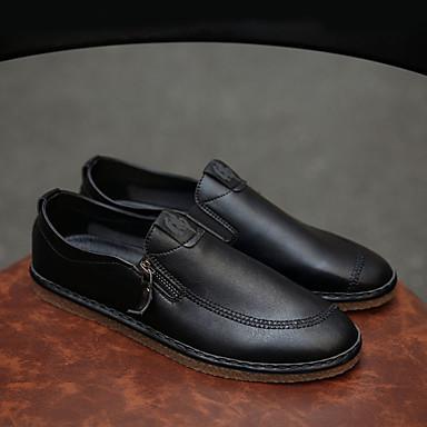 Homme Chaussures de confort Polyuréthane Polyuréthane Polyuréthane Automne Oxfords Blanc / Noir / Soirée & EvéneHommes t | Shopping Online  5cad32