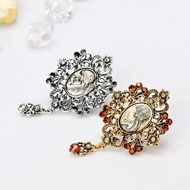 Žene Broševi Klasičan Kreativan Klasik Moda Broš Jewelry Zlato Pink Za Vjenčanje Party Cosplay nošnje
