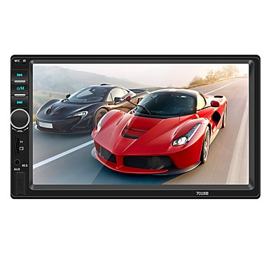 cheap Car DVD Players-SWM 7018B 7 inch 2 DIN Other OS Car MP5 Player / Car MP4 Player / Car MP3 Player Touch Screen / MP3 / Built-in Bluetooth for universal RCA / TV Out / Bluetooth Support MPEG / AVI / MPG MP3