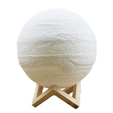 jupiter svjetiljka potapljena trobojnica 8cm pametna svjetla mxd1 0802 3d ispis svjetlo home dekorativno noćno svjetlo za poklon