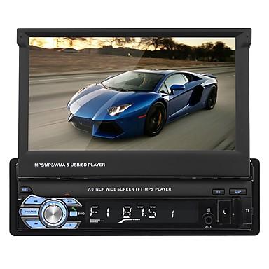tanie Samochód Elektronika-swm 9601 7-calowy 2-calowy ekran dotykowy innego odtwarzacza mp5 samochodu / wbudowana obsługa bluetooth / sd / usb dla uniwersalnego rca / audio / av out wsparcie mpeg / avi / mpg mp3 / wma / wav gif