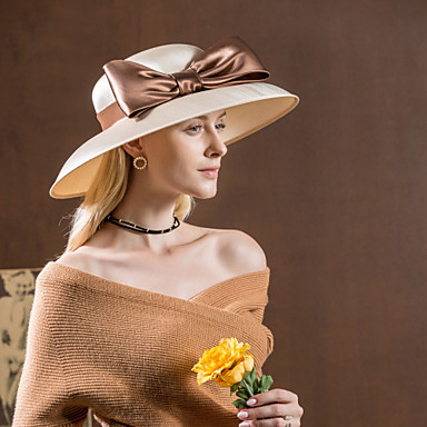 abordables Coiffes-Velours Kentucky Derby Hat / Chapeaux / Coiffure avec Fleur 1pc Mariage / Occasion spéciale / De plein air Casque