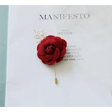 Žene Broševi Retro Broš Jewelry Lila-roza Za Vjenčanje Svečanost