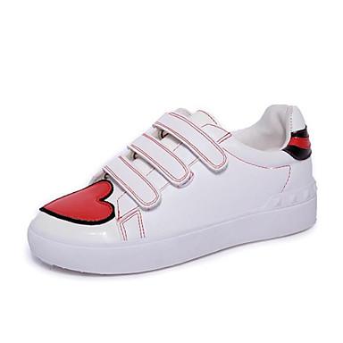Ambizioso Per Donna Pu (poliuretano) Estate Sneakers Piatto Bianco - Blu #07026617 Diversificato Nell'Imballaggio