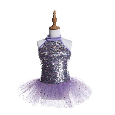Balet Haljine Djevojčice Trening / Seksi blagdanski kostimi Spandex / Til / Sa šljokicama Šljokice Bez rukávů Haljina
