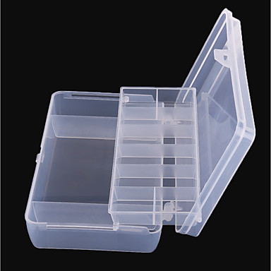 cheap Fishing Tackle Boxes-Fishing Bucket & Container Tackle Box Easy to Carry 2 Trays PP / Sea Fishing / Fly Fishing / Bait Casting / Ice Fishing / Spinning