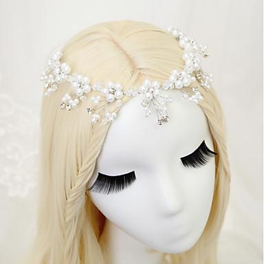 Imitacija bisera Headpiece s Umjetni biser / Kristali / Rhinestones 1 komad Vjenčanje / Dnevni Nosite Glava