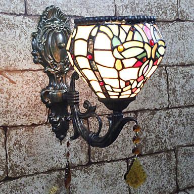 Kreativan / Lijep Tiffany / Retro / vintage Zidne svjetiljke / Kupaonska rasvjeta Spavaća soba / Unutrašnji Resin zidna svjetiljka 110-120V / 220-240V 25 W